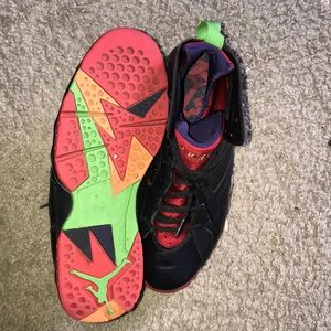 Jordan Shoes - marvin the martian 7s